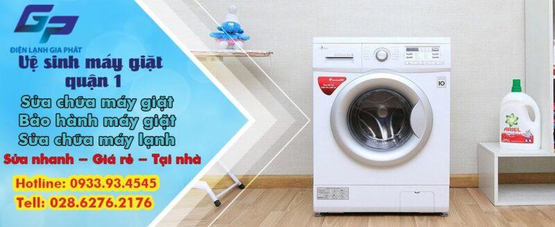 Dịch vụ vệ sinh máy giặt quận 1